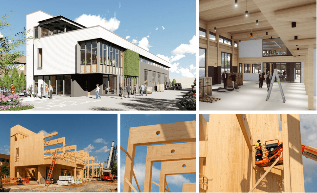 Benefits of Mass Timber and Cross-Laminated Timber - William